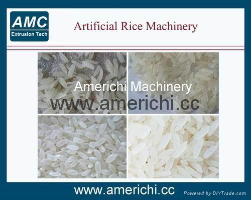 双螺杆营养大米生产线 4