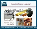 Co extrusion snacks machines