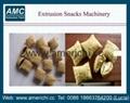 Co extrusion snacks machines