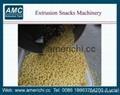 Extrusion snacks puffs machine