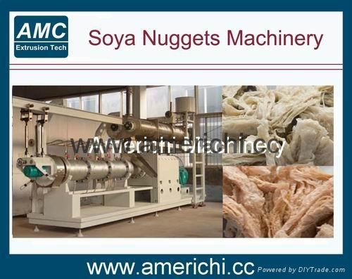 Texture soya protein food machines 2