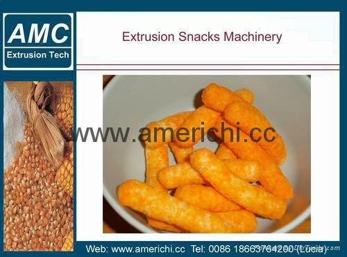 休闲小食品膨化机生产设备 9