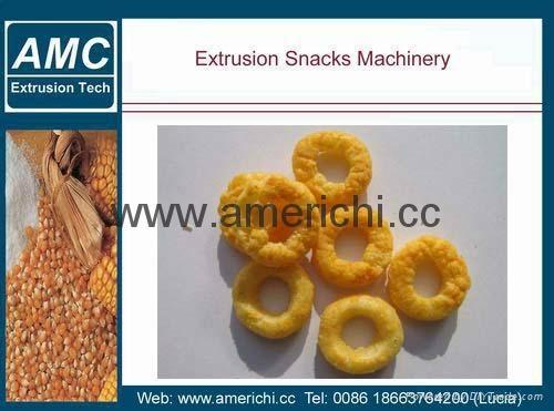 休闲小食品膨化机生产设备 10