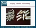 Frying pellets snacks machine