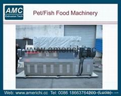 小型膨化觀賞魚浮性飼料生產線