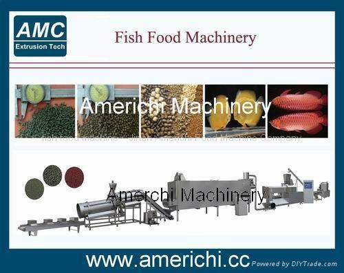 浮水魚飼料生產線 1