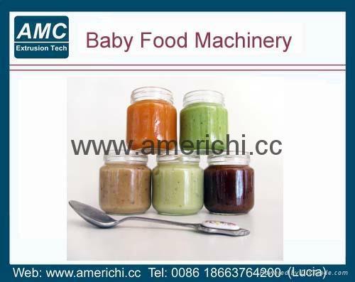 膨化营养粉、早餐粥生产设备  3