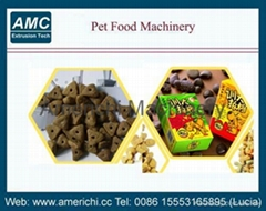 Pet dog cat food machine