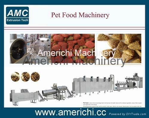 Dry Cat Pet Food Machine 1
