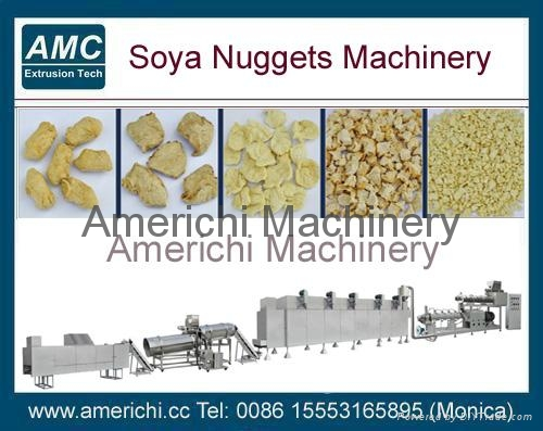 Textured Soy Protein Food Machine