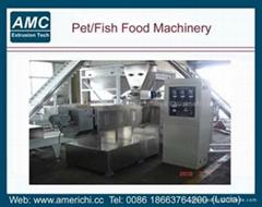膨化魚飼料生產線
