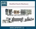 Modified starch extruder machine