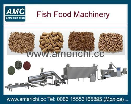 浮水鱼饲料生产线 14