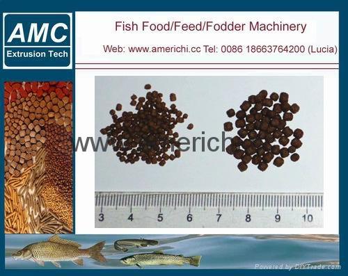 漂浮鱼饲料生产线 11