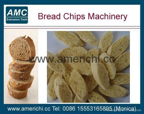 休闲食品面包片设备