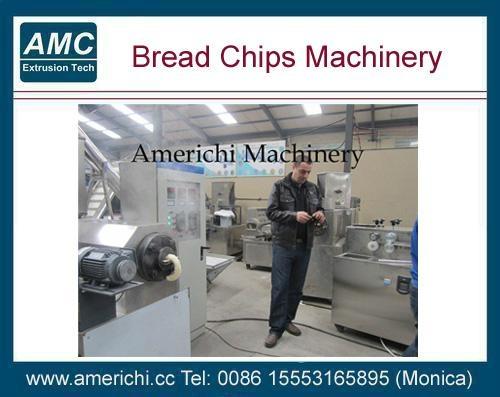斜切面包片生产线 1