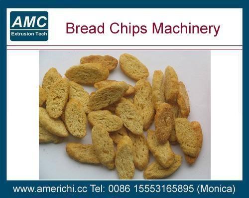 斜切面包片生产线 4