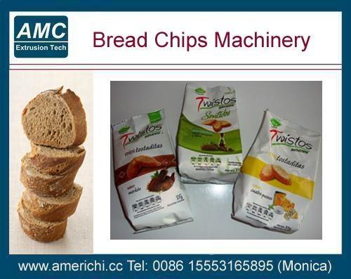 膨化面包片设备 2