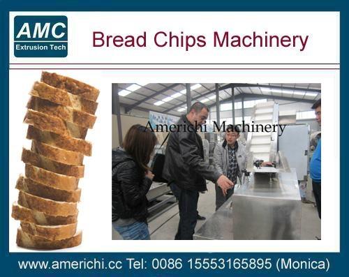膨化面包片设备 4