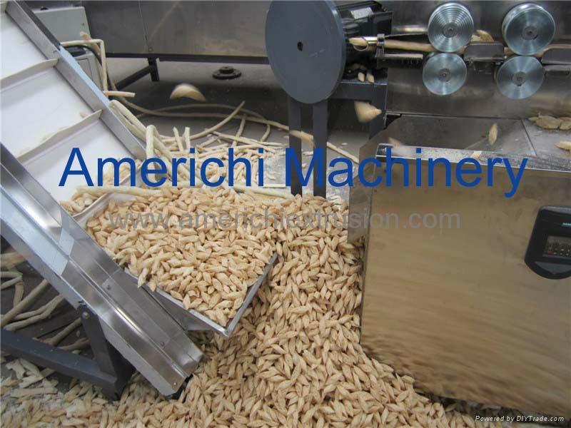 斜切面包片生产线 2