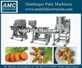 Meat pie forming machine