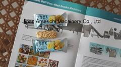 脆米巧克力生產線