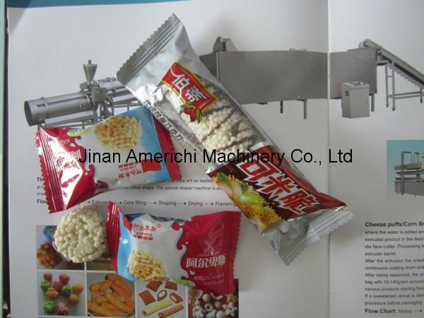Chocolate cereal bar food machines 2