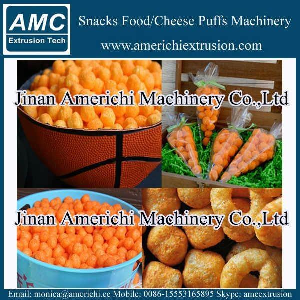 膨化小食品設備 12