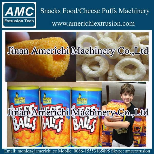 膨化小食品设备 11
