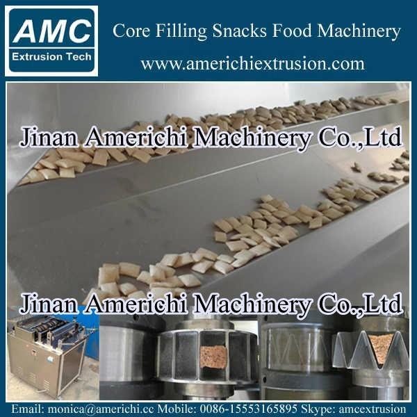 core filling snacks machine 2