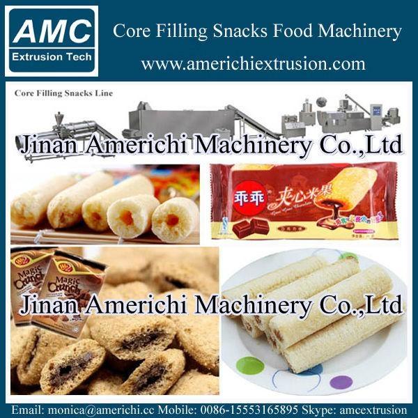 core filling snacks machine 3