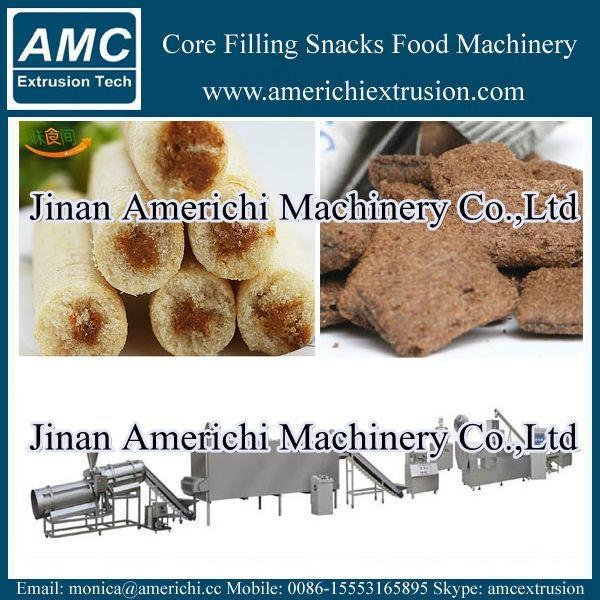 core filling snacks machine 6