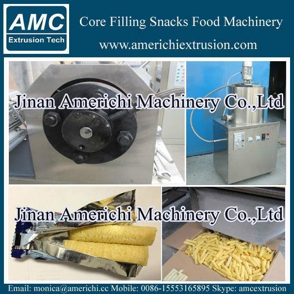 core filling snacks machine 8