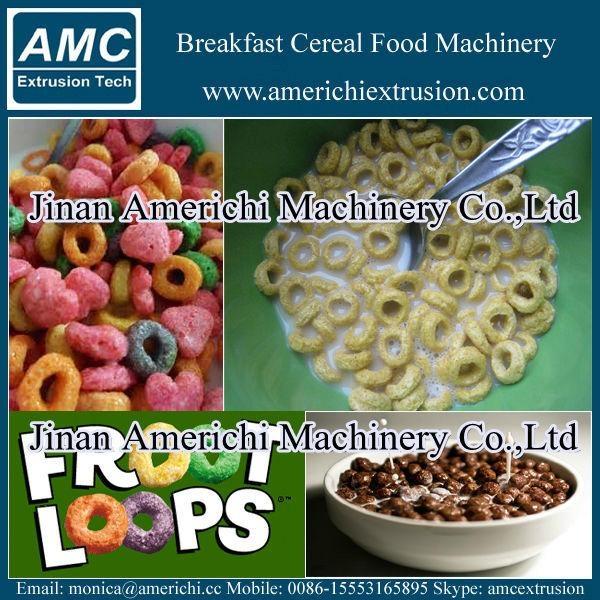 早餐穀物玉米片設備 9