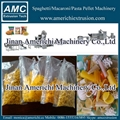 Frying pellet snacks food machine
