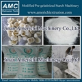 Pregelatinized corn starch making machine