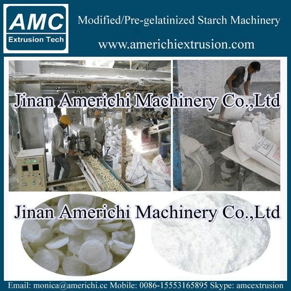 Pregelatinized corn starch making machine 6