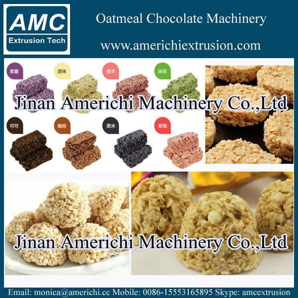 Oatmeal chocolate bar making machine