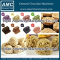 Oatmeal chocolate bar making machine