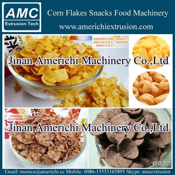 玉米片早餐穀物設備 2