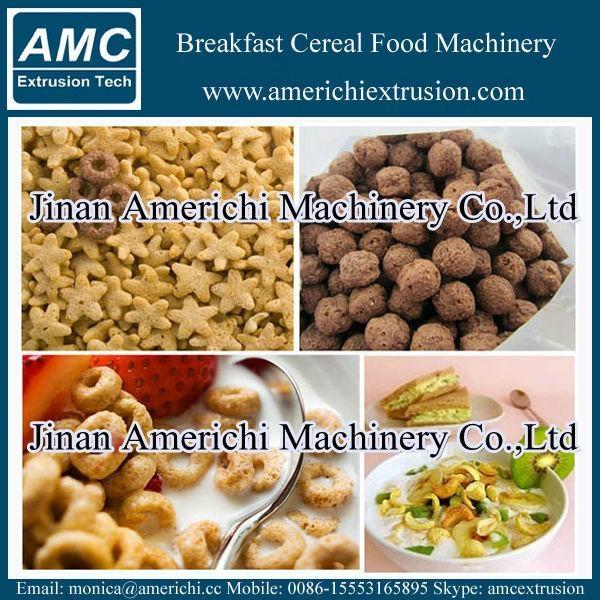 玉米片早餐穀物設備 6