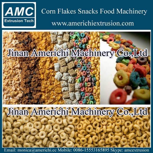 玉米片早餐穀物設備 9