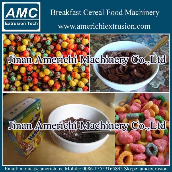 玉米片早餐穀物設備 13
