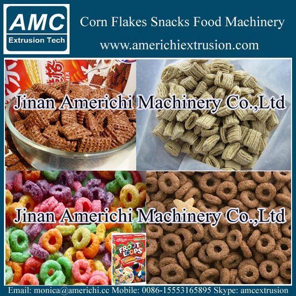 早餐穀物玉米片生產線 2