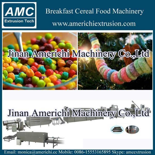 早餐穀物玉米片生產線 7