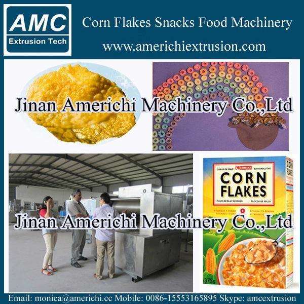 早餐穀物玉米片生產線 8