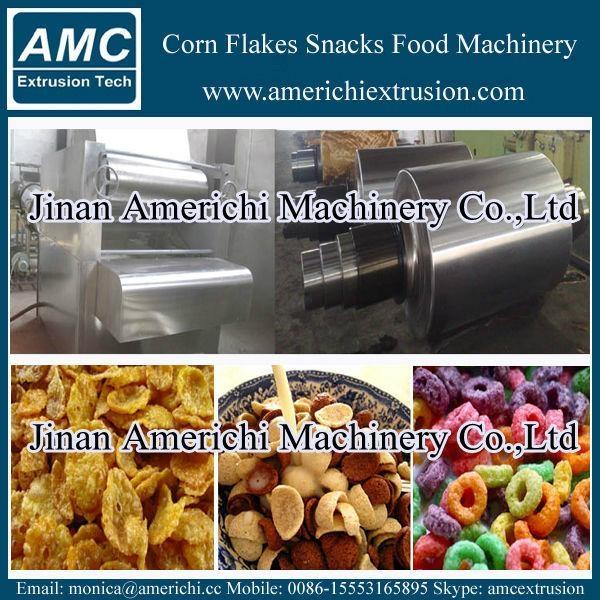 早餐穀物玉米片生產線 11
