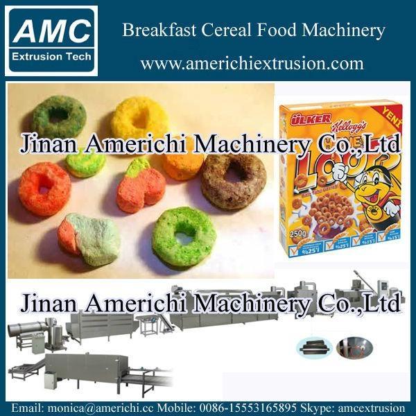 早餐穀物玉米片生產線 12