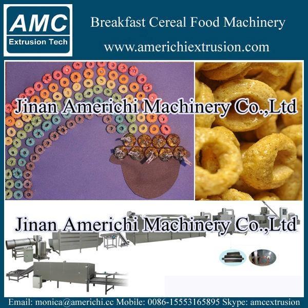 早餐穀物玉米片生產線 14