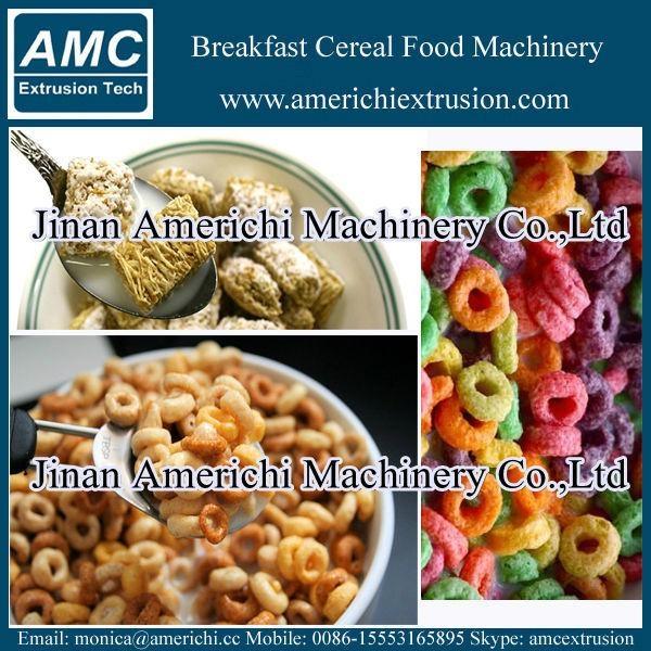 早餐穀物玉米片生產線 16